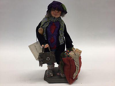 ART DOLL ~ COLLECTIBLE ANITA JONES Character Doll ~ RARE ~ OOAK