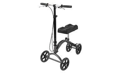 Knee Walker Roller Drive Medical Steerable Crutch Alternative Mobile Portable