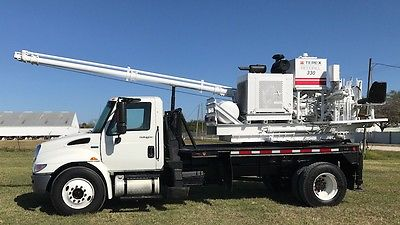 UNDER CDL Texoma 330 Pressure Digger Drill Rig Auger Drilling Pile Caisson Truck