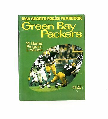 1969 Green Bay Packers Sports Focus Yearbook.