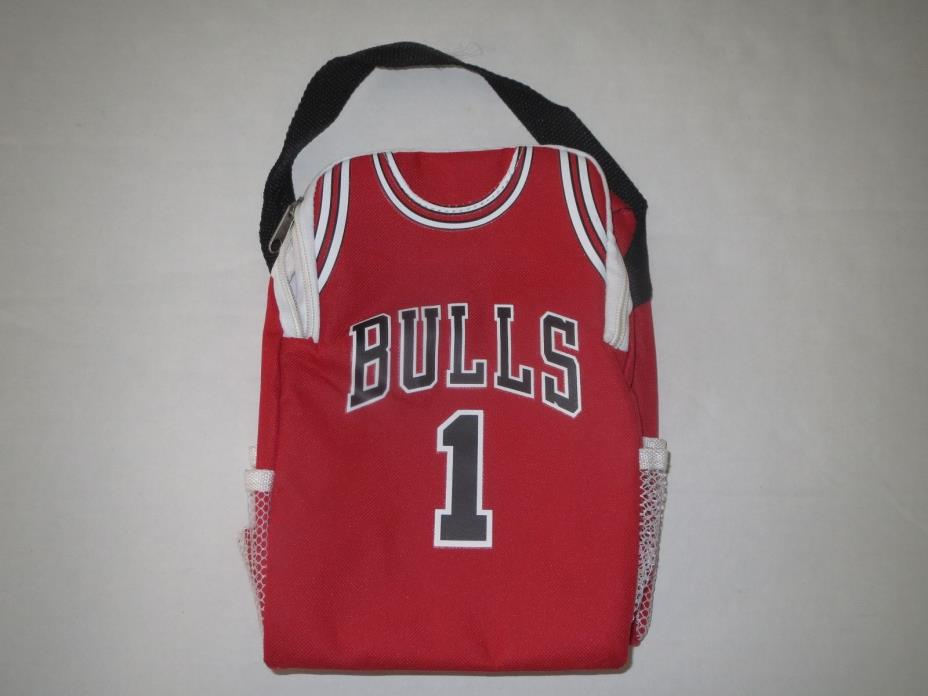 Chicago Bulls NBA Lunch Box Jersey **NEW**