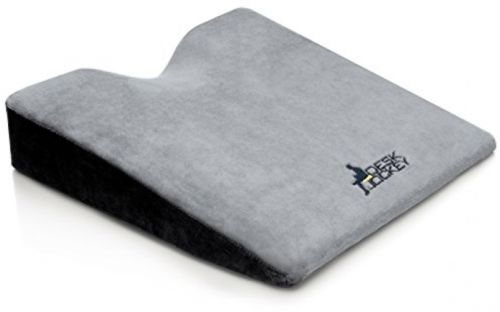 Car Seat Cushion - Premium Therapeutic Grade Car Wedge Cushion - Seat Cushion -