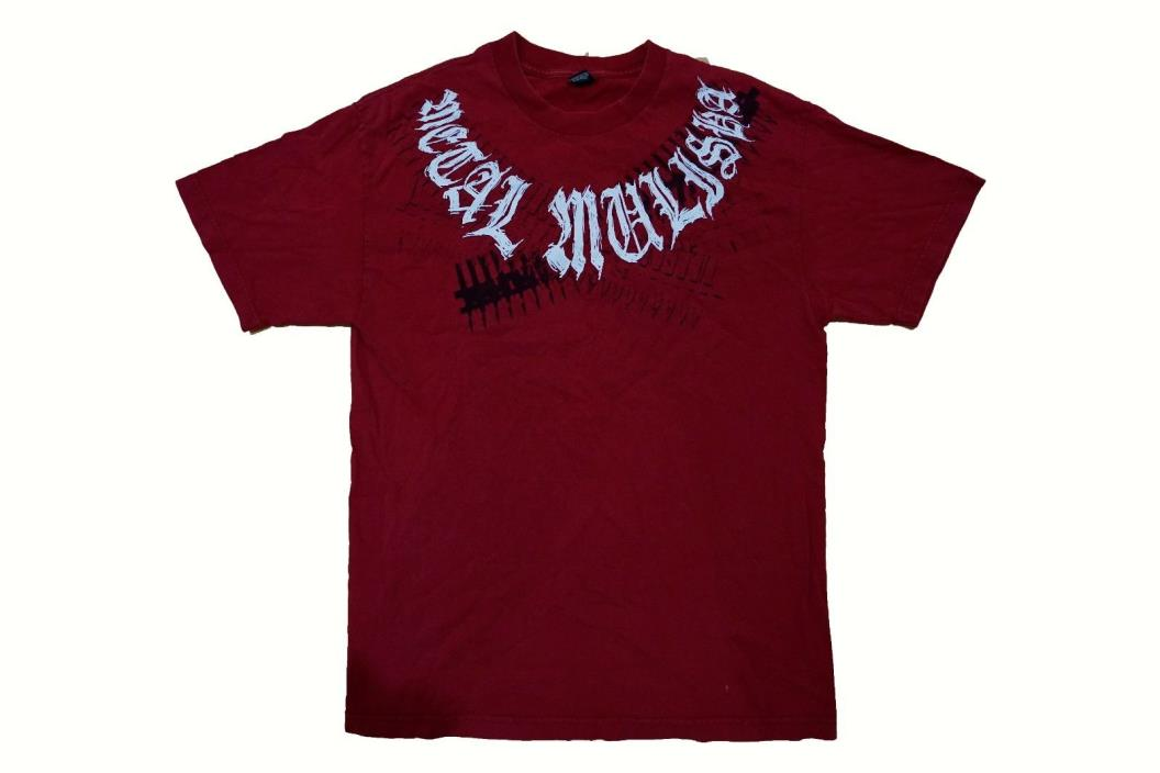Metal Mulisha L T-Shirt Graphic Tee 100% cotton