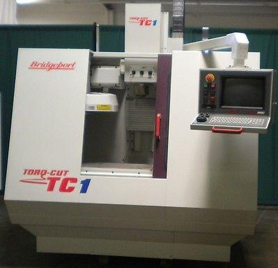 BRIDGEPORT TC-1 CNC VERTICAL MACHINING CENTER CNC Milling Centroid CNC