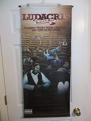 Ludacris Vinyl Advertising Poster Banner Double Sided