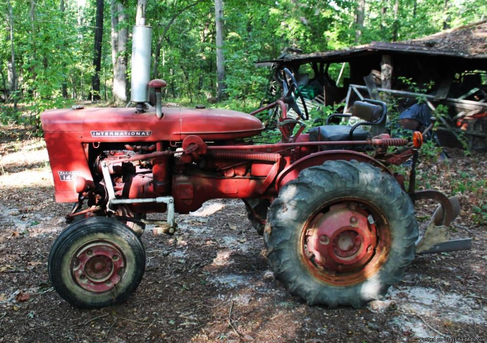 Farmall 140 Tractor : Farmall tractor for sale classifieds