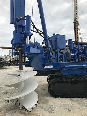 Texoma 600T Pressure Digger Drill Rig Auger Drilling Pier Pile Caisson Track