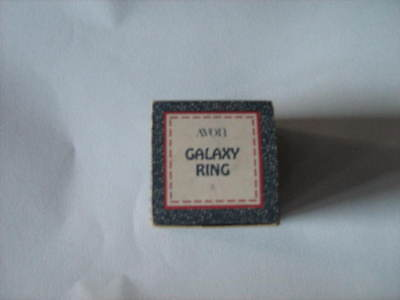 Avon Galaxy Ring = box only = vintage, collectable, souvenier [Used - GC]