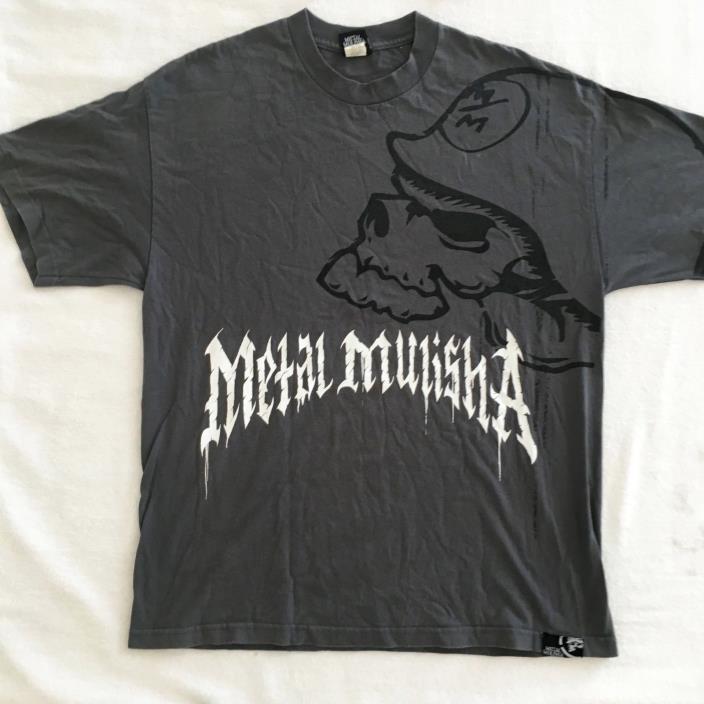 Metal Mulisha Men's T-Shirt Graphic Tee Size XL 100% Cotton
