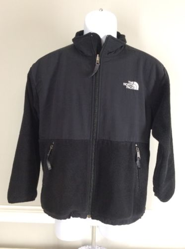 The North Face Denali Fleece Black Jacket Youth Large