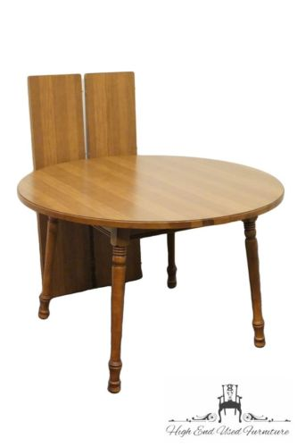 TELL CITY Young Republic 47? Round Dining Table 8163F