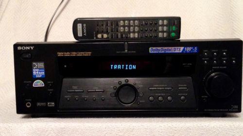 Sony STR-DE575 5.1 Channel 500 Watt Stereo Digital Audio Video Amplifier