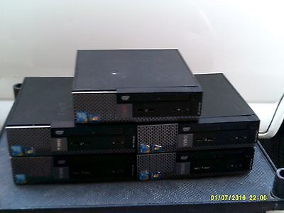 Lot of 5 Dell Optiplex 780 Desktop Computers for Parts