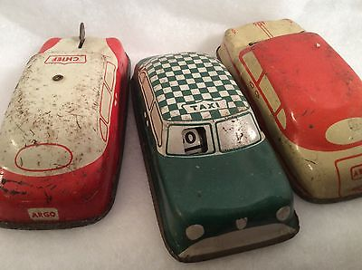 vintage tin toy cars