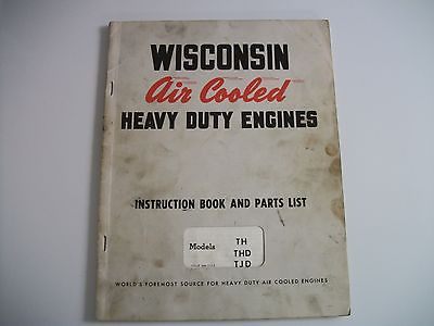 Wisconsin Heavy Duty Air Cooled Engine Service Manual