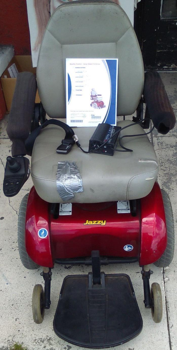 Electric Wheelchair Power Chair Pride Jazzy Select 14 Series Mobility Batteries