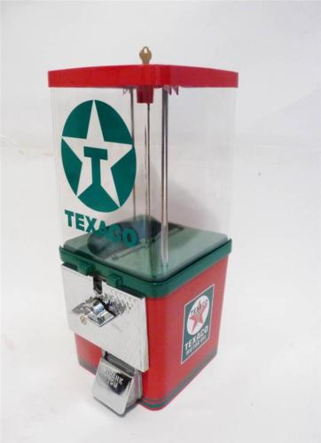 vintage gumball machine TEXACO GASOLINE gas
