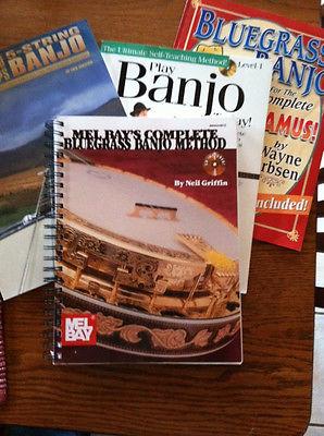 Banjo Method Books and Songbooks