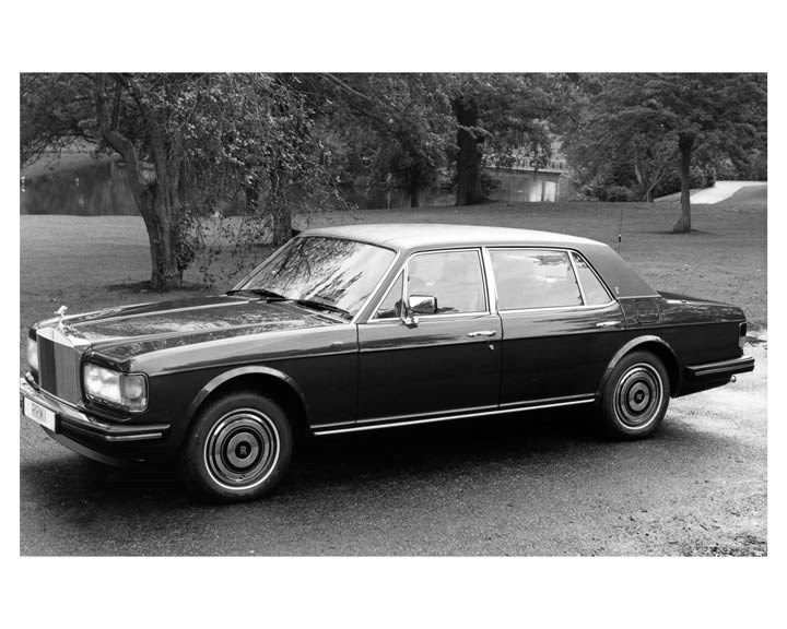 1986 Rolls Royce Silver Spur ORIGINAL Factory Photo ouc0930