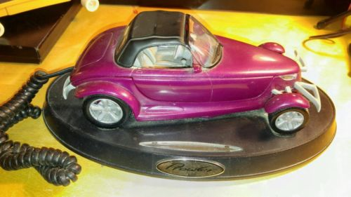 PLYMOUTH PROWLER CAR DESK TOP TELEPHONE NEW