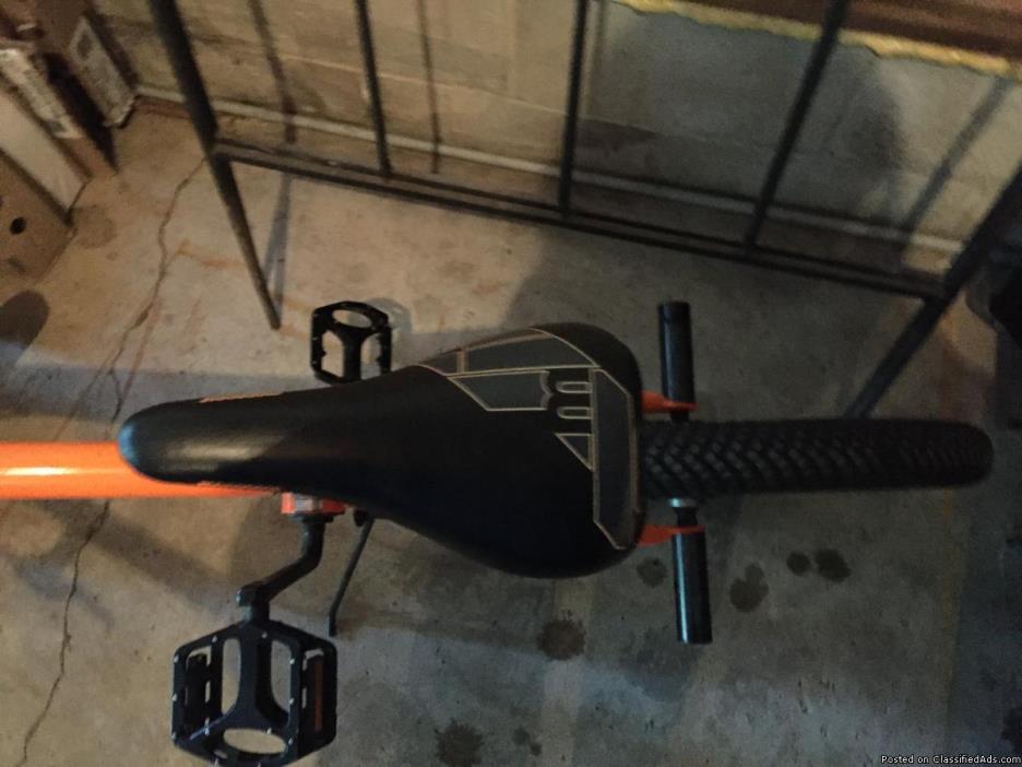 Orange Mongoose Bike