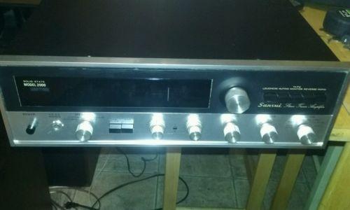 Sansui 2000 Receiver Amplifier