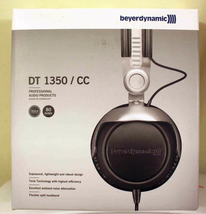 NEW Beyerdynamic DT 1350 80 Ohms Closed Supra-Aural Headphone 100% RATED SELLER