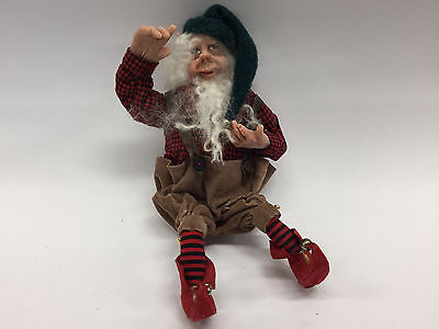 ART DOLL ~ COLLECTIBLE ANITA JONES ~ ELF ON THE SHELF ~ RARE ~ OOAK