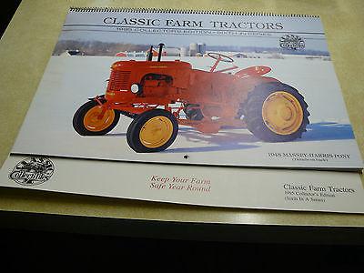 1995 CLASSIC FARM TRACTORS CALENDAR-FARMALL/ ALLIS CHALMERS/