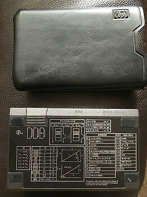 Vintage Hp-15c Calculator with Slip Case Excellent Condition