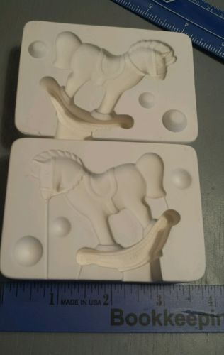 ROCKING HORSE Duncan TM44 1976 Vintage Ceramic Mold