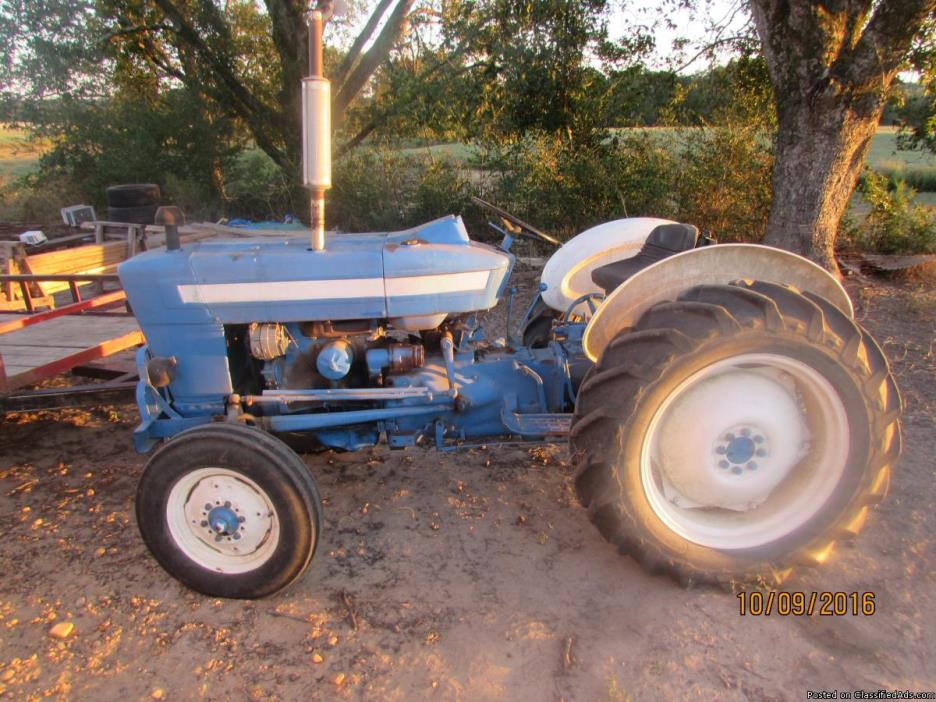 Ford 3000 Tractor Grill : Ford tractor for sale classifieds