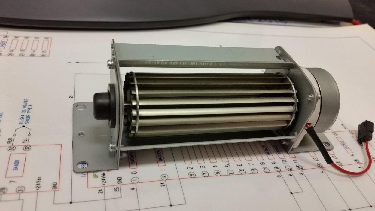 Toshiba squirrel cage printer fan 24VDC 0.1A RH7-1056  CFL-008-8A