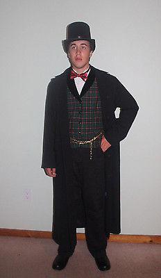 Victorian Edwardian Dicken Frock Coat Great coat  London Fog