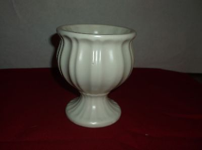 Hull Pottery White vase/planter