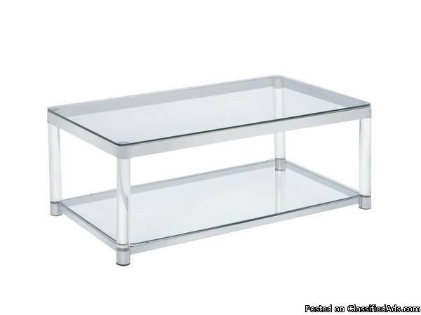 Acrylic Coffee Table - contemporary style