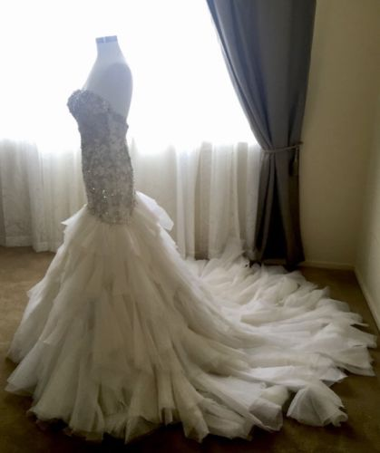 YSA MAKINO, Mermaid Style Wedding Dress!