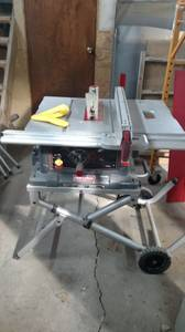 Craftsman table saw (Grand Island)