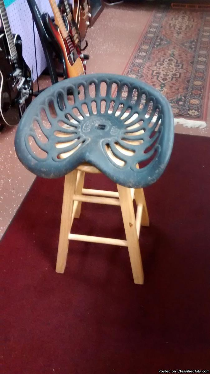 Champion Tractor Seats : Old farm implements for decor sale classifieds