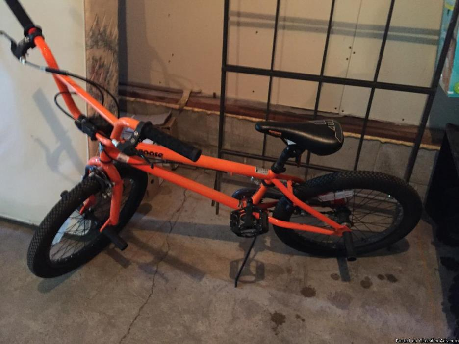 Orange Mongoose Bike