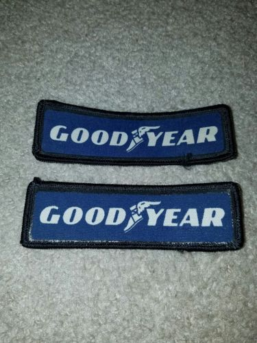 Vintage Goodyear Uniform Patch - Goodyear Tires - lot of 2