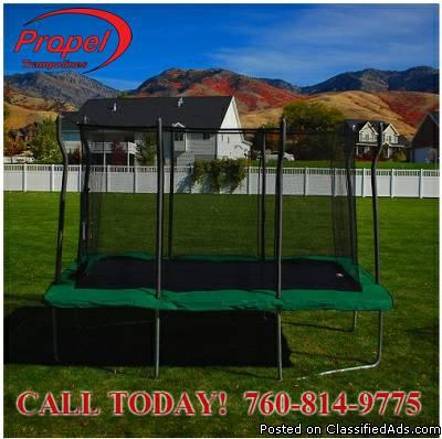 12 X 8 Outdoor Rectangular Trampolines Southern California -LIMITED INVENTORY...