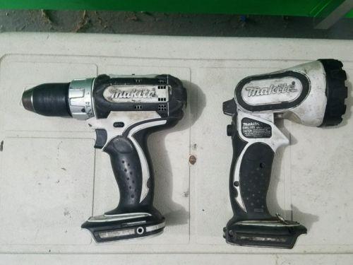 Makita 18 volt drill/ light