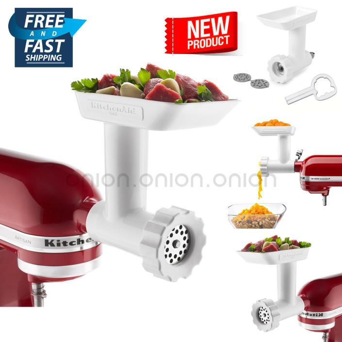KitchenAid Mixer Attachment Food Grinder Meat Stand Mixers Part Accessories USA