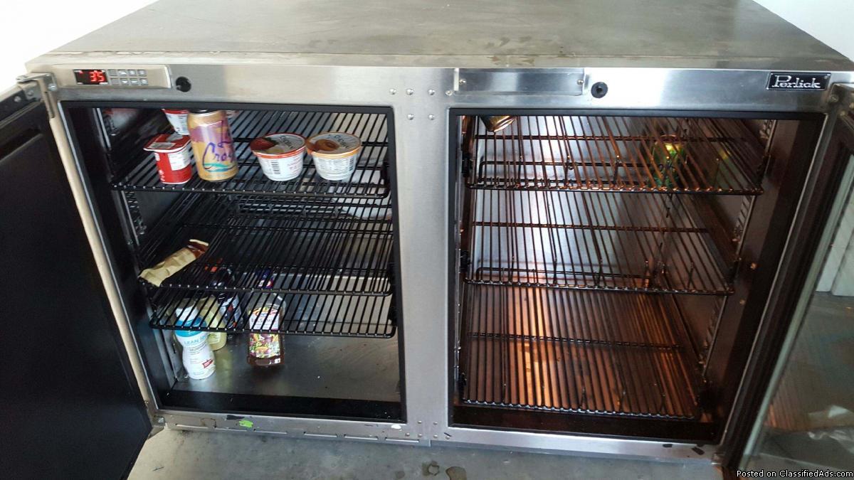 Perlick freezer /fridge 48