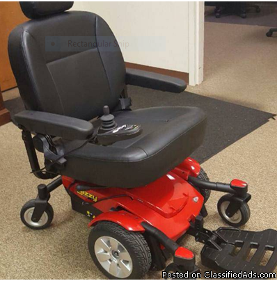 Wheelchair Jazzy Select 6 Power Wheel Chair - Excellent Buy!
