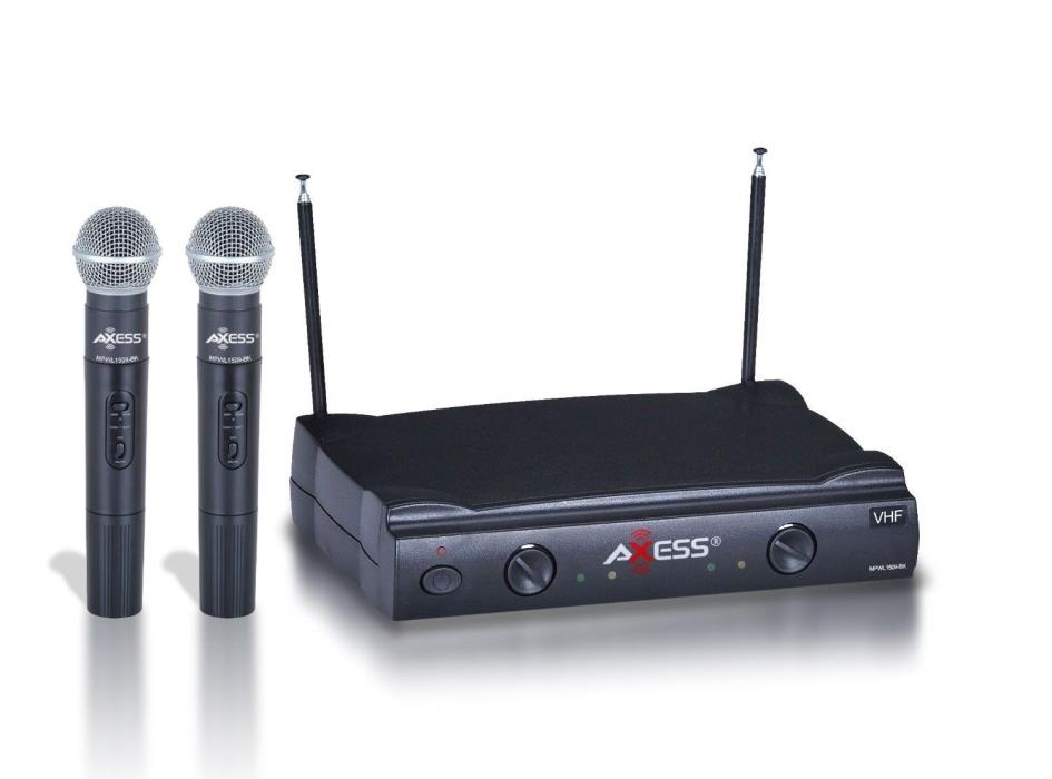 vhf wireless microphone system for sale classifieds. Black Bedroom Furniture Sets. Home Design Ideas
