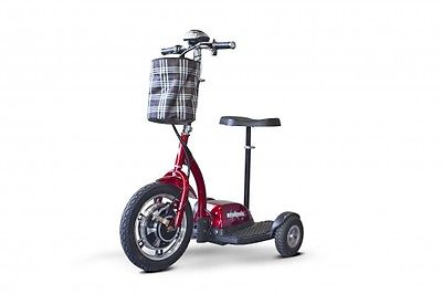 E Wheels EW18 STAND-N-RIDE 3 Wheel Mobility Scooter Standing Scooter