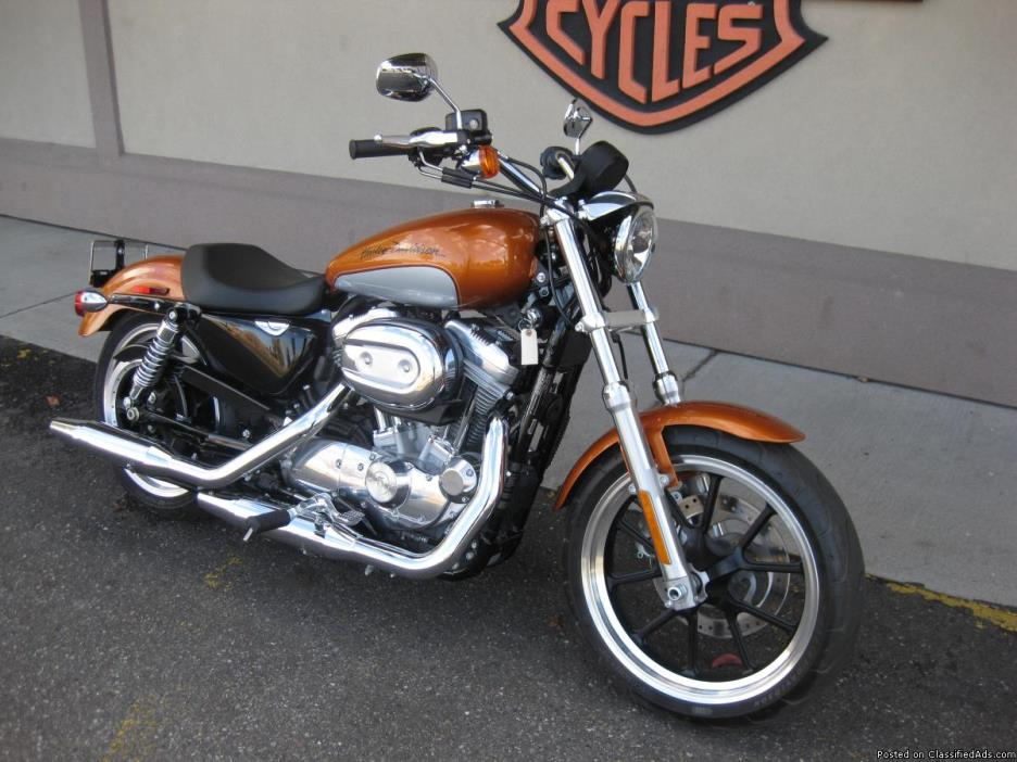 2014 Harley-Davidson XL883L - Super Low