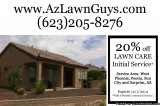Lawn Care Landscaping New Lawn Installation in Peoria Surprise a